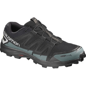 Salomon Unisex Speedspike CS Shoes Black/Reflective Silver/Mallard Blue